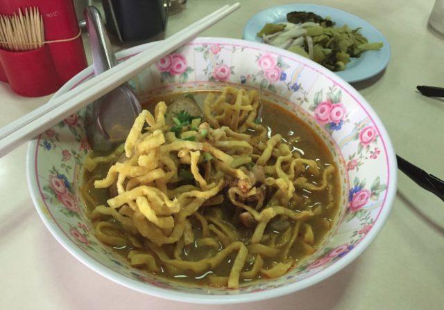 カオソーイ タイ北部・カレー風味ラーメン