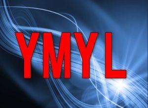 YMYLと書いてあるイラスト