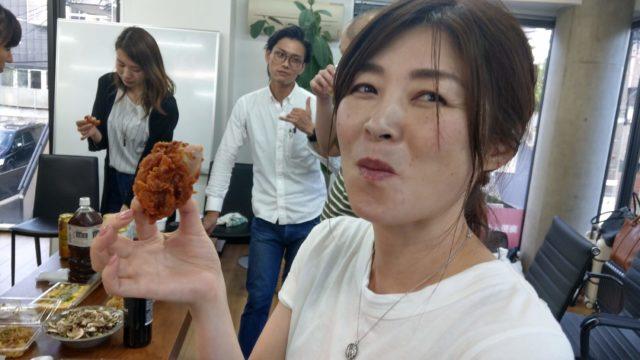 新潟県からお越しのネイル店経営の新野さん